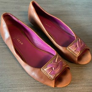 Cole Haan Brown Leather Flats | 6.5B
